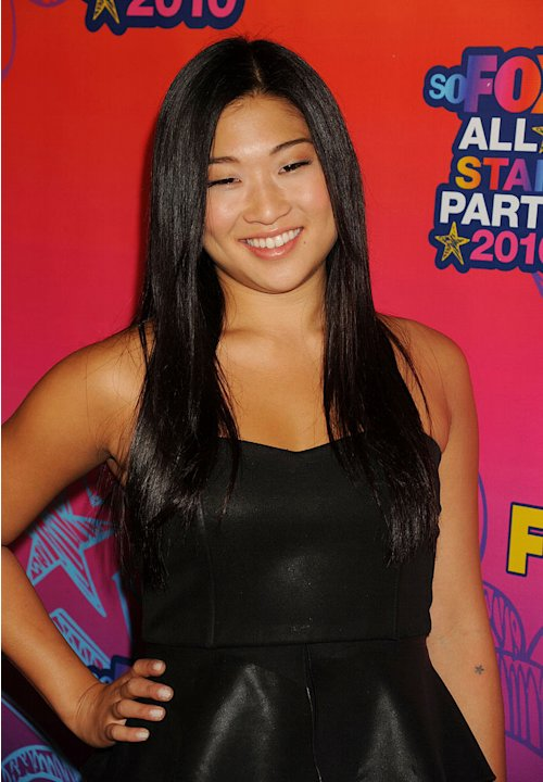 """Glee's"" Jenna Ushkowitz arrives at the Fox 2010 Summer TCA All-Star Party on August 2, 2010 in Santa Monica, California."