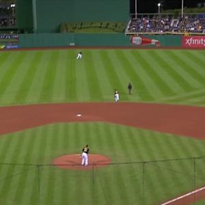 Duvall's solo home run