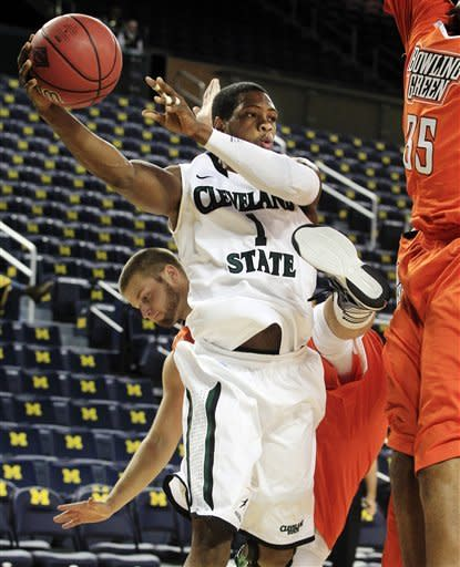 Cleveland State edges Bowling Green 79-73 in OT