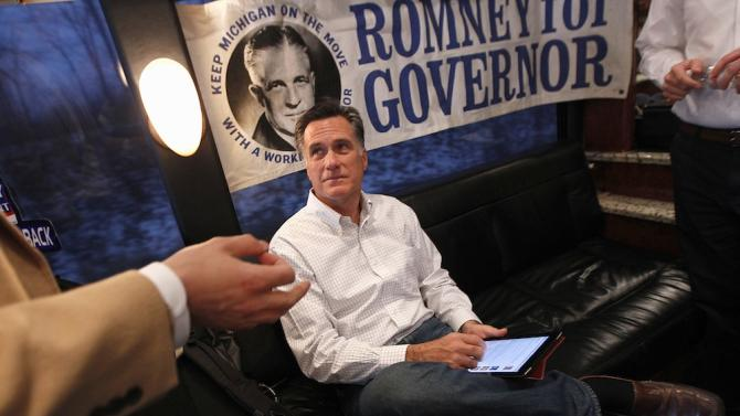Romney Honors His Dad's Legacy By Being His Total Opposite