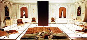 Keir Dullea as David Bowman in MGM's 2001: A Space Odyssey