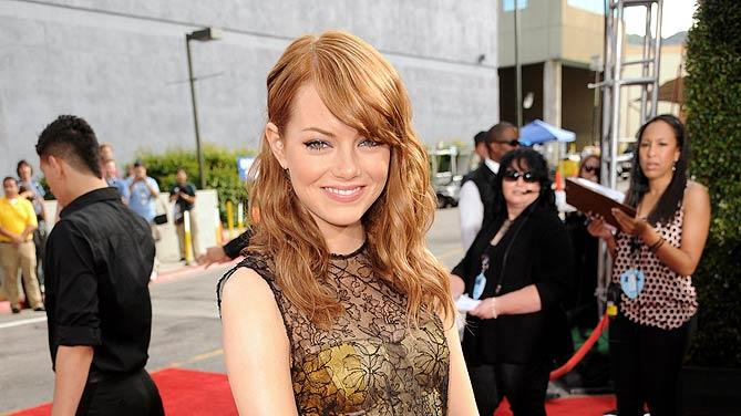Emma Stone MTV Movie Aw