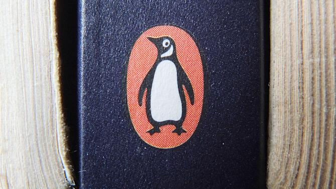 "A book on display with the penguin logo. in Cirencester, England. Pearson PLC will merge its Penguin Books division with Random House, which is owned by German media company Bertelsmann, in an all-share deal that will create the world's largest publisher of consumer books, it was reported on Monday, Oct. 29, 2012. The planned joint venture brings together classic and best-selling names. As well as publishing books from authors such as John Grisham, Random House scored a major hit this year with ""Fifty Shades of Grey."" Penguin has a strong backlist, including George Orwell, Jack Kerouac and John Le Carre. (AP Photo/Tim Ireland/PA) UNITED KINGDOM OUT  NO SALES  NO ARCHIVE"