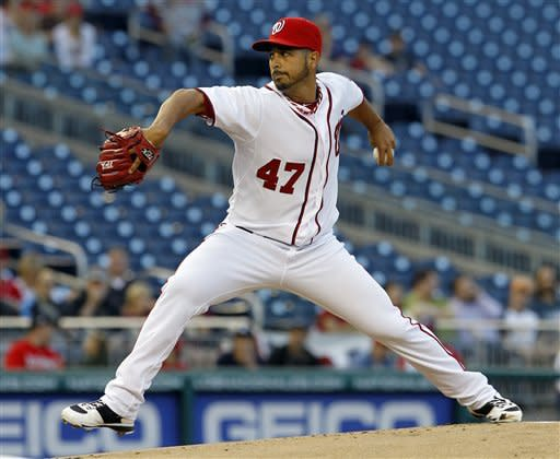 Gonzalez beats Astros 1-0 for first win with Nats