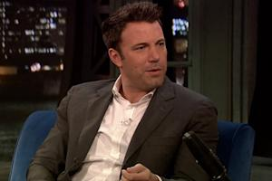 Ben Affleck Addresses Batman Casting Backlash on 'Jimmy Fallon' Show: 'I Handle S*%t' (Video)