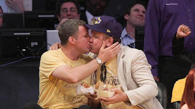 Will Ferrell JohnC Reilly Lakers Game