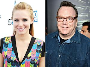 Kristen Bell to Tom Arnold: Your Baby Is Cuter Than Mine