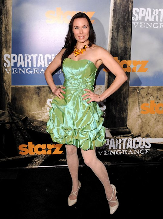 "Jon Mack attends the Starz Original Series ""Spartacus: Vengeance"" Premiere Event at ArcLight Cinemas Cinerama Dome on January 18, 2012 in Hollywood, California."
