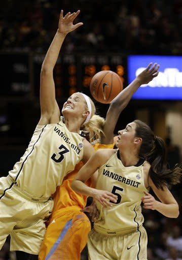 No. 9 Tennessee women beat Vanderbilt 83-75
