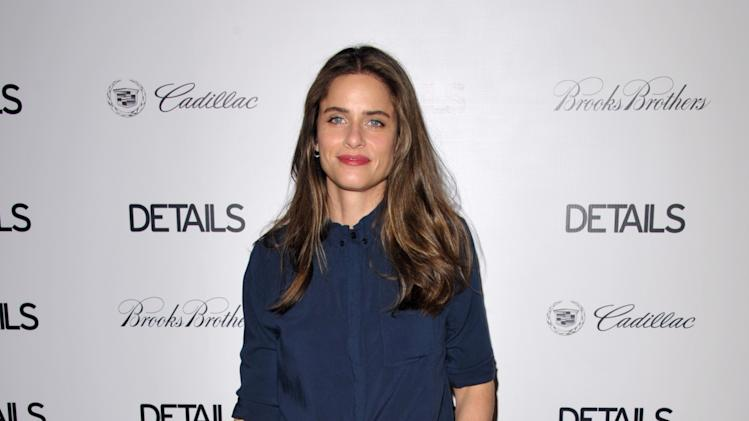 IMAGE DISTRIBUTED FOR DETAILS MAGAZINE - Amanda Peet attends DETAILS Hollywood Mavericks Party on Thursday, Nov. 29, 2012 in Los Angeles. (Photo by John Shearer/Invision for Details Magazine/AP Images)
