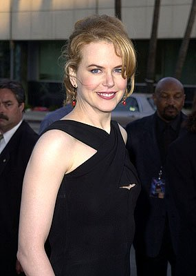 Nicole Kidman at the Beverly Hills premiere of 20th Century Fox's Moulin Rouge