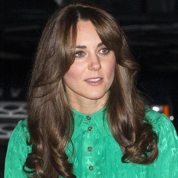 Kate Middleton Top 10 Best Hairstyles: The Duchess showed off a new, choppier style with a sweeping side fringe at the Natural History Museum last night ©Rex