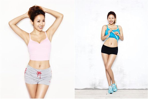 How to Get Lee Hyoris Fit Body