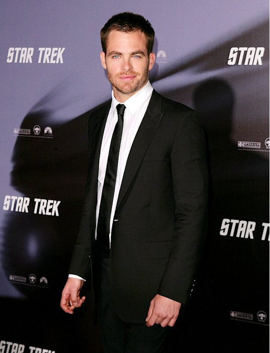 Pine Chris Star Trek Sydney Pr