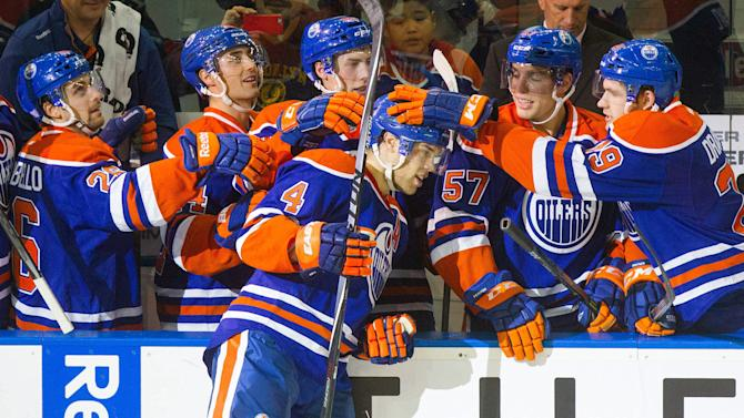 NHL Three Stars: Hall, Nugent-Hopkins push Oilers to first win