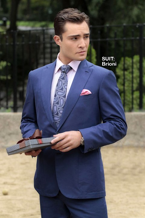 Ed Westwick as Chuck Bass in the Season 5 episode &quot;The Fasting and the Furious.&quot; Gossip Girl 