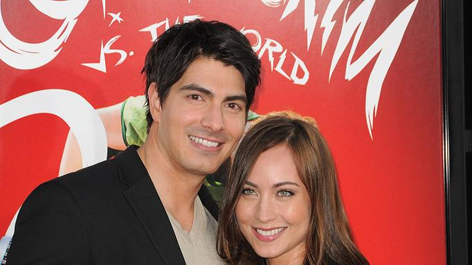 Scott Pilgrim vs the World LA premiere 2010 Brandon Routh Courtney Ford