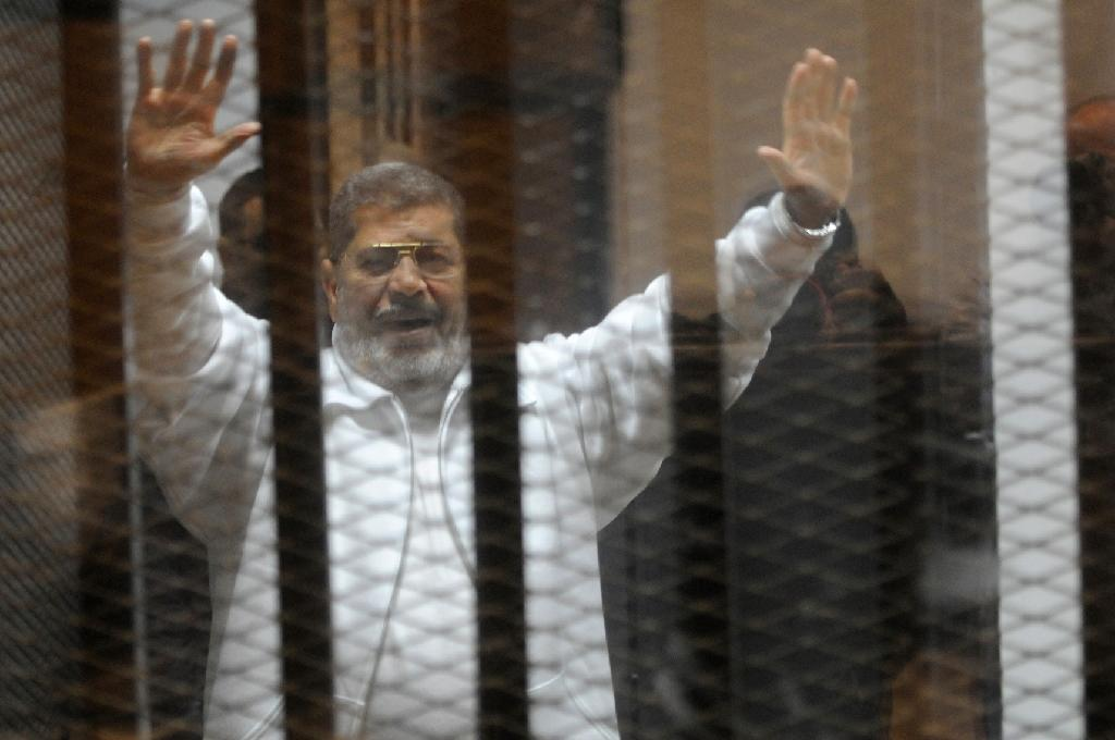 US 'concerned' by sentencing of Egypt's Morsi, 14 more