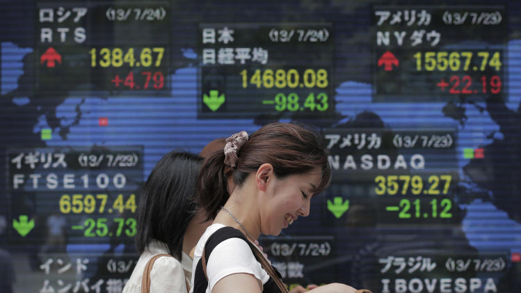 Markets drift lower amid mixed signals