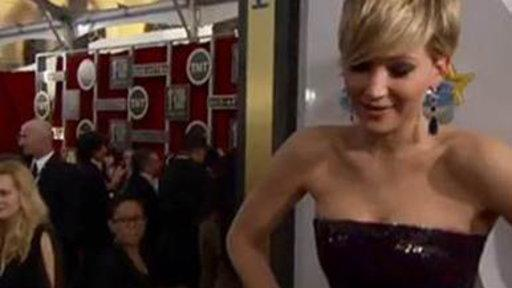 Jennifer Lawrence Has Meltdown Over 'Homeland'