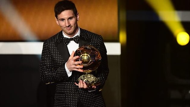 2013 Ballon d&#39;Or Lionel Messi