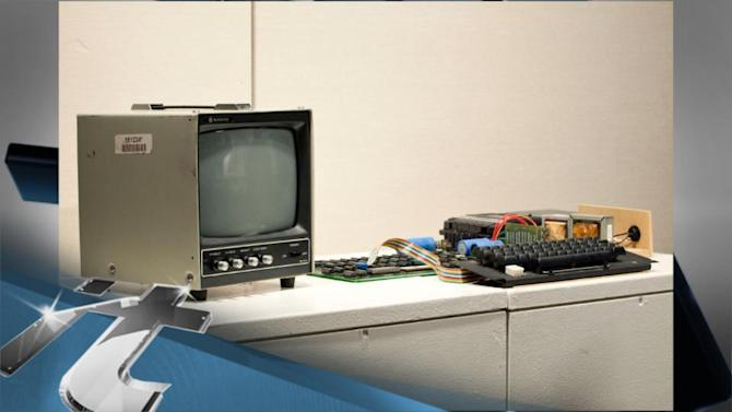 Apple News Byte: For Sale: Old Apple, Very Expensive