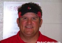 Colerain football coach Tom Bolden