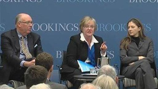 David Moderates a Brookings Panel Series: 'Black Swans: A Presidential Briefing Book'