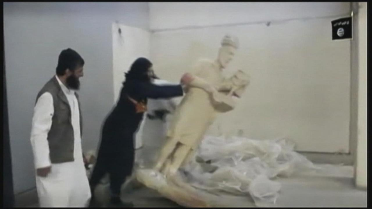 Outrage: Extremists take ancient statues, damage Iraqi site