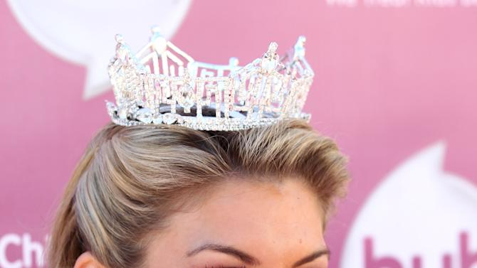 "Miss America 2013 Mallory Hagan attends theThe Hub TV Network's ""My Little Pony Friendship is Magic"" Coronation Concert at the Brentwood Theatre on Saturday, Feb. 9, 2013, in Los Angeles in support of Children's Hospital LA. (Photo by Matt Sayles/Invision for The Hub/AP Images)"