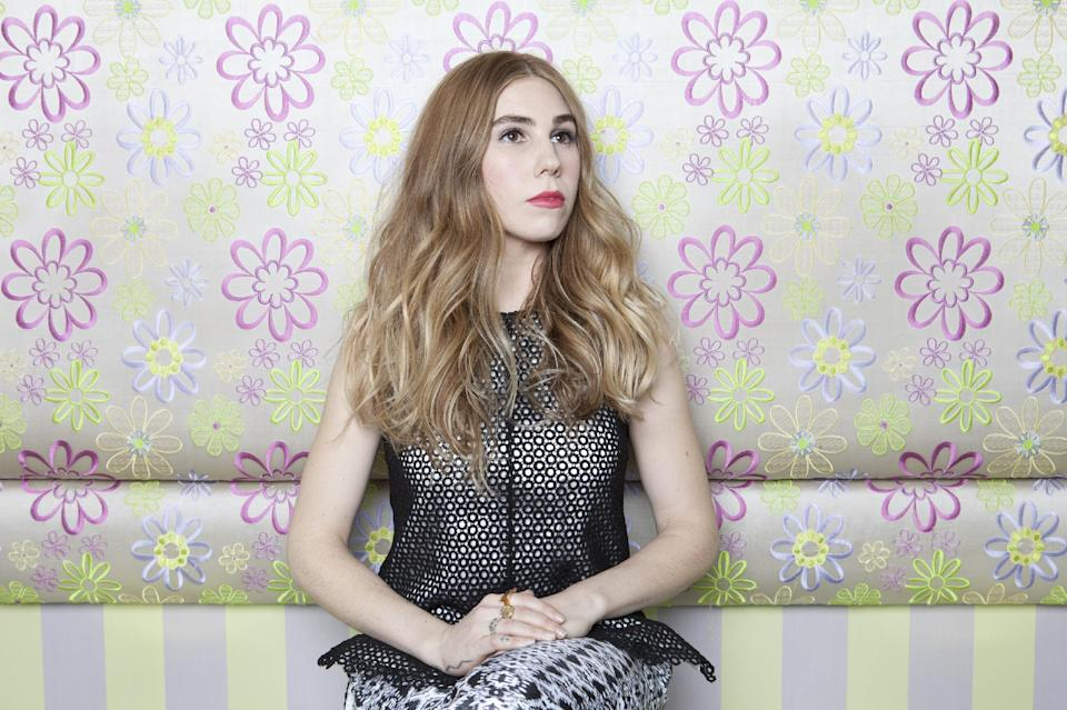 "This Jan. 8, 2013 photo shows American actress Zosia Mamet posing for a portrait to promote the second season of the HBO Comedy Series ""Girls"", in New York. (Photo by Amy Sussman/Invision/AP)"