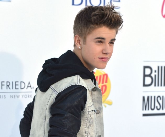 Justin Bieber arrives at the 2012 Billboard Music Awards held at the MGM Grand Garden Arena in Las Vegas on May 20, 2012 -- Getty Images