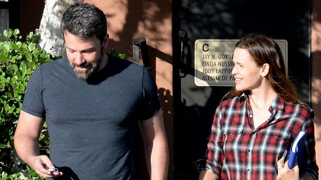 Ben Affleck and Jennifer Garner Seen Smiling After Family Counseling