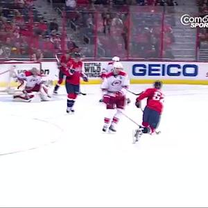 Mike Green goes top-shelf on Justin Peters