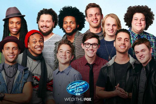 'American Idol' Season 14's Boys Come Out to Play