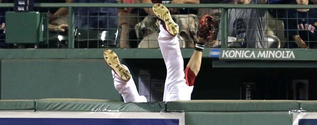 Red Sox star's miracle catch that wasn't