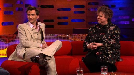 Jo Brand, David Tennant and the Proclaimers