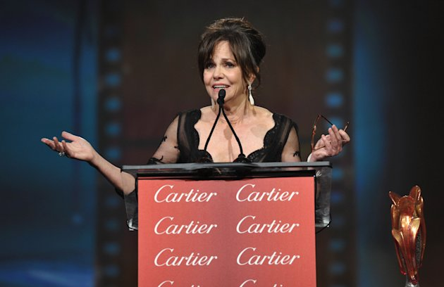 Sally Field in Palm Springs on Saturday