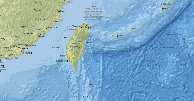 Multiple buildings have collapsed in Taiwan after a 6.4 magnitude earthquake