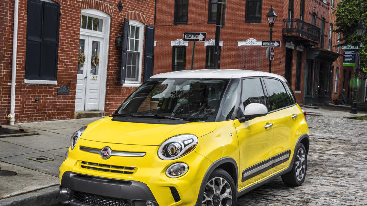 For 2014, Fiat offers a longer 500 model