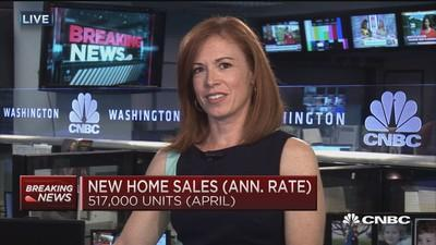 New home sales, prices rise strongly in April