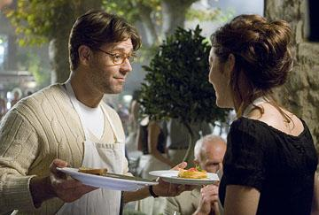 Russell Crowe and Marion Cotillard in 20th Century Fox's A Good Year