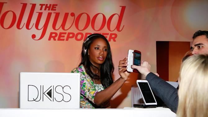 JaKissa Taylor-Semple AKA DJ Kiss attends The Hollywood Reporter Nominees Night Presented by Samsung Galaxy at Spago on Monday, Feb. 4, 2013, in Beverly Hills, Calif. (Photo by Ben Cohen/Invision for The Hollywood Reporter/AP Images)