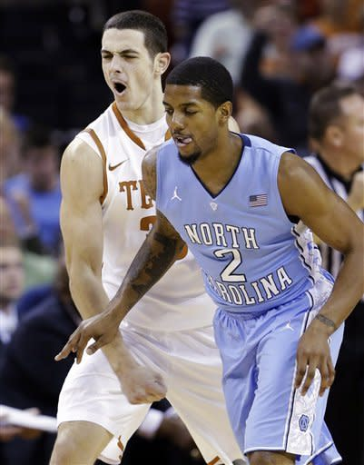 Unranked Texas upsets No. 23 Tar Heels 85-67