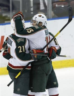 Cullen, Christensen lift Wild to win over Panthers