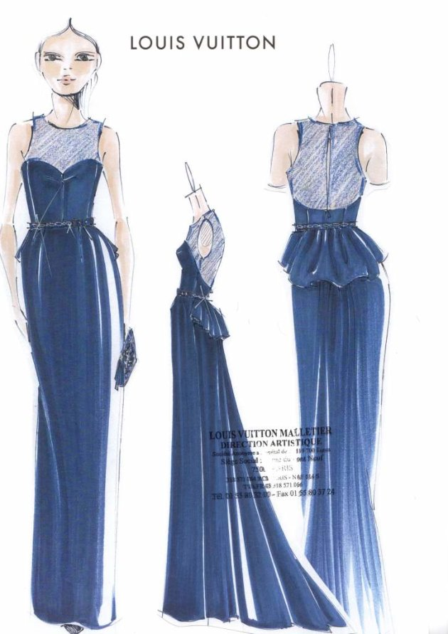 Marc Jacobs Reveals EXCLUSIVE Sketch Of Michelle Dockery's ...