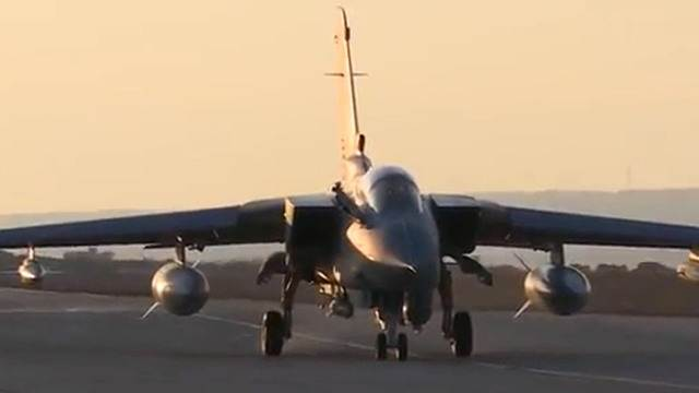 Britain's Royal Air Force launches first attacks on ISIS