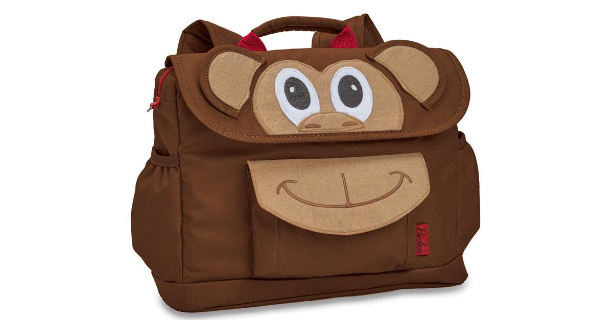 Pre-K Adorable 'Monkey' Backpacks, Now Only $32