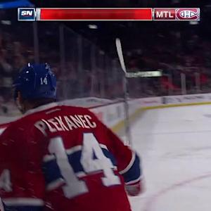 Plekanec scores twice in win