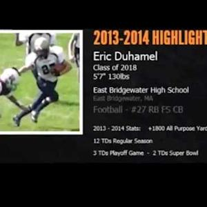 Eric Duhamel 2014 Football Highlights